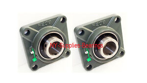 1 1 2 Ucf208 24 4 Bolt Square Flange Ucf208 Block Bearing qty 2 Pieces