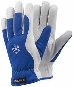 Tegera 217 Winter Fleece Lined Thermal Leather Cold Insulated Drivers Work Glove