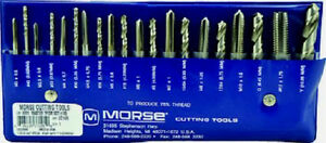 20 Piece Metric Tap And Drill Set Guide M3 X 0 50 To M12 X 1 75 Usa Mct 37105