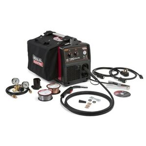 Lincoln Power Mig 180 Dual Mig Welder Package K3018 2