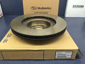 Genuine Subaru Wrx Forester Front Brake Rotor 2002 2008 26300ae061 Oem New