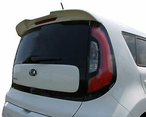 Painted Spoiler For A Kia Soul Flush Mount Factory Spoiler 2014 2019