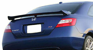 Painted Spoiler For A Honda Civic Si 2 door Coupe Factory Style 2006 2011