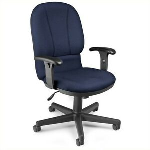 Ofm Executive Task Office Chair In Navy