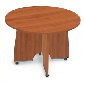 Ofm 43 Round Conference Table In Cherry