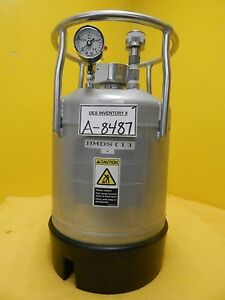 Alloy Products Hmds Tank Stainless Steel Pressure Vessel Tel Lithius Used