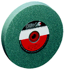 7 X 1 X 1 Cgw Green Silicon Carbide Bench Grinding Wheel 60 Grit Cgw 35039