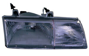 Replacement Passenger Side Headlight For 88 91 Ford Taurus E9dz13008a Fo2501109