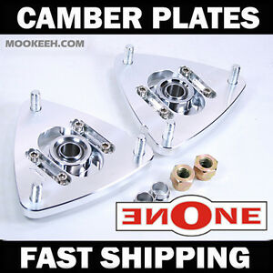 Mookeeh Mk1 Adjustable Camber Kit Plates 2015 2016 2017 Mustang Gt 5 0 Ecoboost