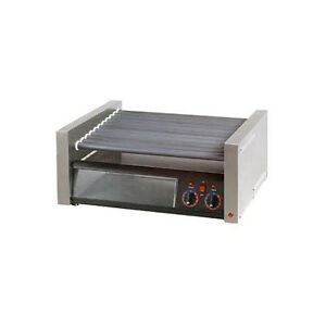 Star Manufacturing 50scbbc Grill max Pro Roller Style Hot Dog Grill W bun Holder