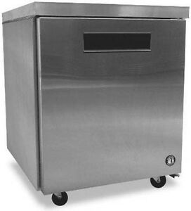 Hoshizaki Crmr27 27 quot Commercial Undercounter Refrigerator With 7 2 Cu Ft