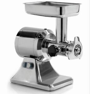 Meat Grinder 1 Hp Motor Heavy Duty Commercial Hub 12 Mcl12e Made In Italy