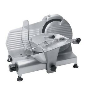New Commercial 12 Meat Slicer 1 3 Hp Motor Ampto Chf300 Made In Italy