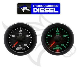 Isspro Ev2 Electronic Turbo Boost Gauge 0 40 Psi R17377