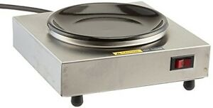 Bloomfield 8851s Coffee Warmer 1 station Stainless Steel 7 1 2 Depth 7 1 2