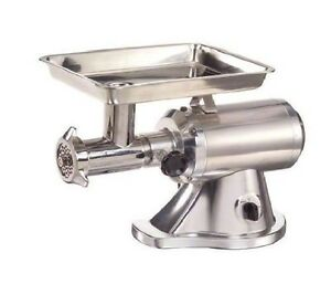 Adcraft Stainless Steel Countertop Meat Grinder 120 Volts 1 Each