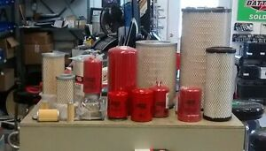 Long Tractor Filter Kit 4 25