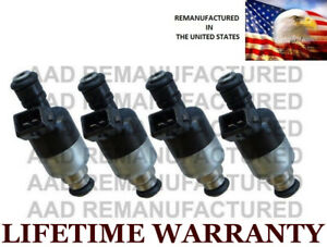 Genuine Rochester Set Of 4 Fuel Injectors For S10 Sunfire Cavalier Hombre 2 2l