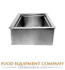 Wells Icp 100 Cold Food Unit Drop in Iced Cold Pan 1 pan Size With Drain
