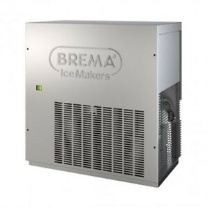 Eurodib G280a Ice Maker By Brema Flakes Style All Stainless Steel And Air Coolin
