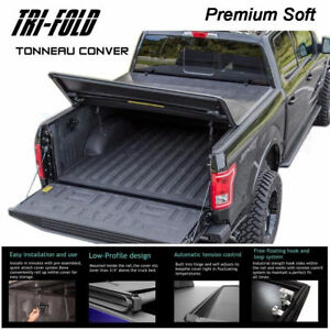 Fits 1998 2000 Chevy Silverado Premium Tri Fold Tonneau Cover 6 5 Ft Short Bed