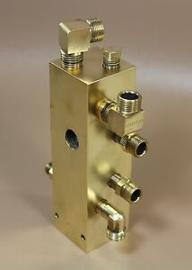 Pelton And Crane Validator Valve Assembly Block For Aa Or Ab Autoclave Models
