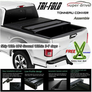 Fits 2010 2018 Dodge Ram 2500 3500 Lock Roll Up Soft Tonneau Cover 6 5ft Bed