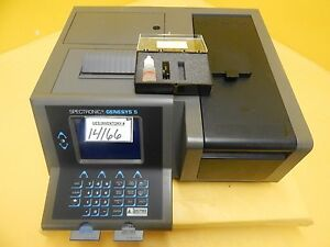 Spectronic Genesys 5 Spectrophotometer Milton Roy 336001 Used Tested Working