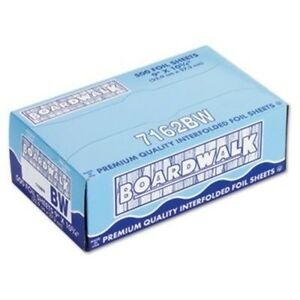 Foil Wrap Sheet 9x10 75 6 500 bwk7162 Category Aluminum Foil By Boardwalk