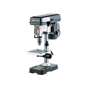 Shop Fox W1667 Bench Top Oscillating Drill Press 8 1 2 inch Osc 1 2 Hp