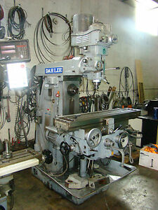 Dahlin Model gh2200 Horizontal Vertical Milling Machine