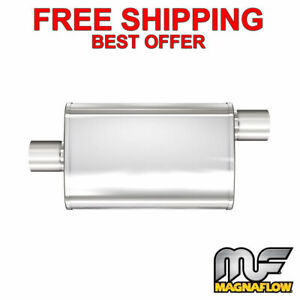 Magnaflow Xl 3 Chamber Stainless Steel Turbo Muffler 2 5 C o 13216