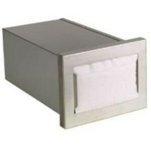 Cmnd Series Stainless Built In Napkin Dispenser