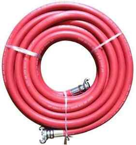 Jgb Eagle Red Jackhammer Rubber Air Hose 3 4 Universal chicago Couplings 50