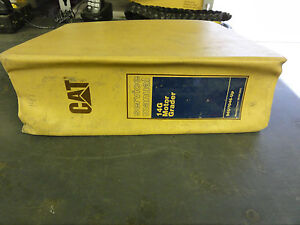 Caterpillar 14g Motor Grader Service Manual