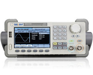 Siglent Sdg5162 Arbitrary Waveform Function Generator 2 Channels 160mhz 500ms s