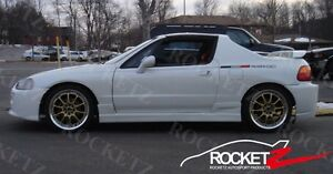 93 97 Honda Del Sol Buddy Club Style Side Skirts Jdm Usa Canada
