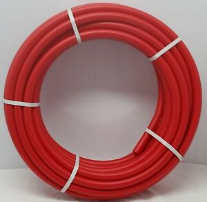 1 300 Coil Red Certified Non barrier Pex Tubing Htg plbg potable Water