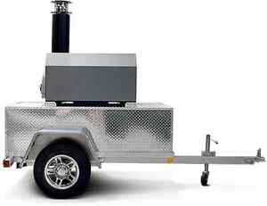 Chicago Brick Oven Cbo750 Tailgate Trailer Silver Vein We Will Beat Any Price