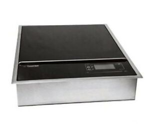 Cook tek Mcd1800g Drop in Commercial Induction Cooktop 100 120v Each unknown