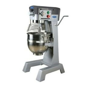 General Commercial Planetary Mixer 30 Quart 3 Speed Gear Drive 2 Hp Motor 120v M