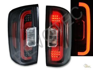 2015 2018 Chevy Colorado Pickup Black Led Tail Lights Rh Lh