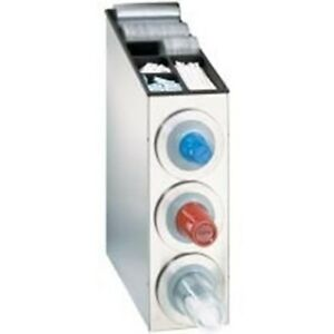 Countertop One Size Fits All Combination Dispensing Cabinet