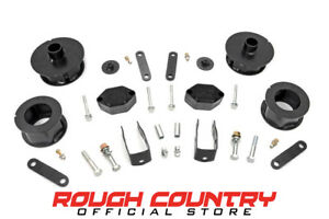 Rough Country 2 5 Lift Kit 07 18 Jeep Wrangler Unlimited Jk 4wd