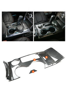 For Ford Explorer 2013 2016 Abs Carbon Fiber Style Glass Panel Position Trim