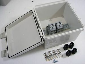 Electrical Junction Box Waterproof Enclosure Nema 4x Wiring Terminal Box