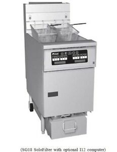 Pitco Economy Fryer 42 50 Lb Fat Cap 45cplusss