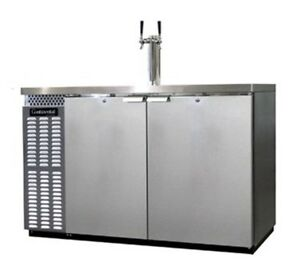 Continental Draft Beer Cooler 50 Wide Kc50 ss