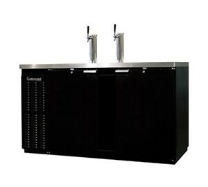 Continental Draft Beer Cooler 59 Wide Kc69