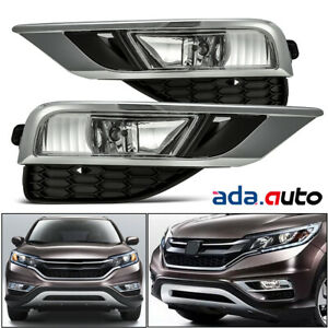 For 2015 2016 Honda Crv Cr V Fog Lights Lamps Wiring Kit Switch Set